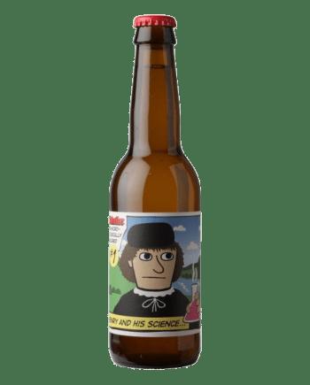 Øl med mand på