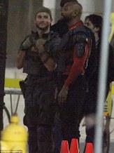 suicide squad set photos