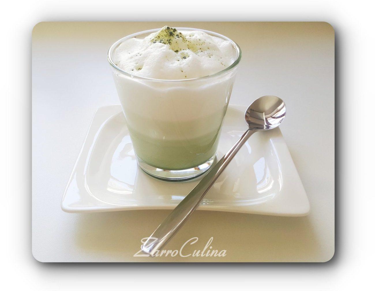 Matcha Latte Macchiato - Titelbild