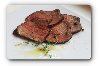 Roastbeef rosa zart und einfach - title