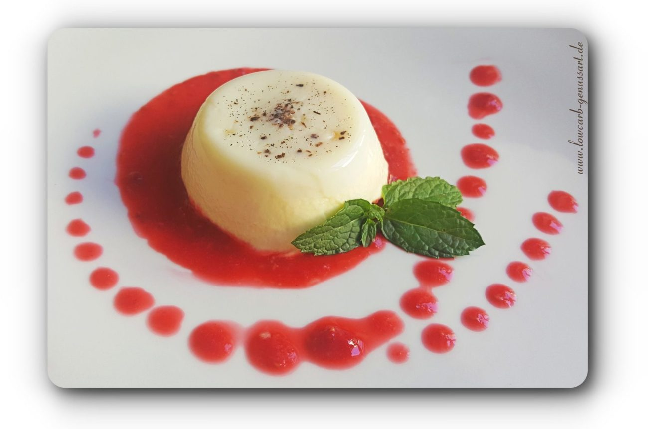 ♡ Cremiges Lowcarb Panna Cotta