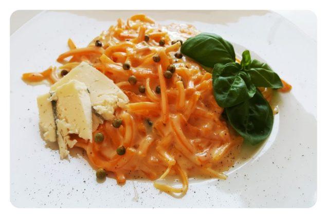 Butternut Kürbis Spaghetti
