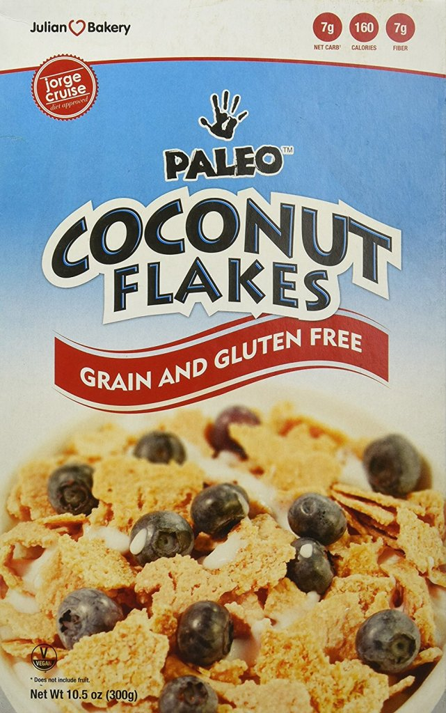 91fA4n HEkL. SL1500  - Paleo Coconut Flakes Cereal (Value Pack 6 Boxes) (Low Carb & Gluten Free)