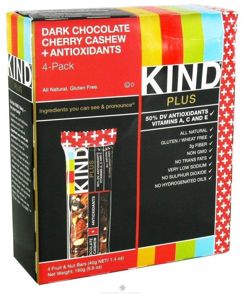 714er9a buL. SL1000  - Kind Fruit and Nut Bar Plus Antioxidants, 5.6 Ounce / 4 per Pack (12 Pack)