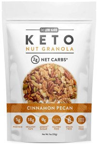 keto substitute for cereal