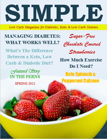 Low Carb Magazine Cover - Spring 2021