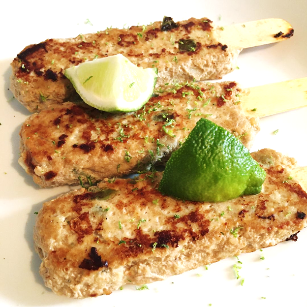 Mexican Chicken Kebabs