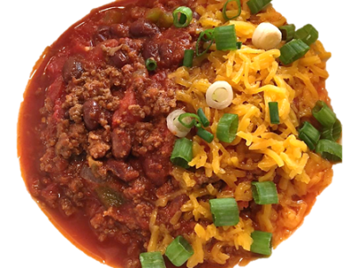 keto chili with beans