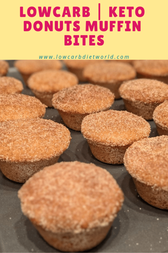 LowCarb | Keto Donuts Muffin Bites