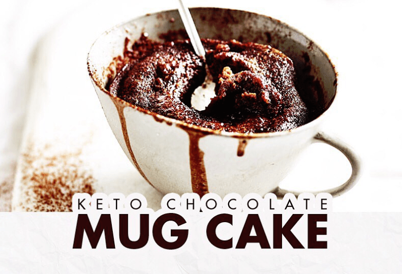 Easy Keto Chocolate Mug Cake