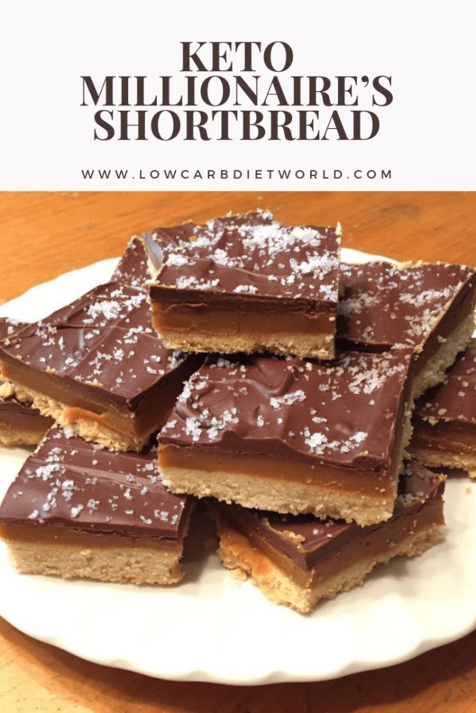 Keto Millionaire's Shortbread