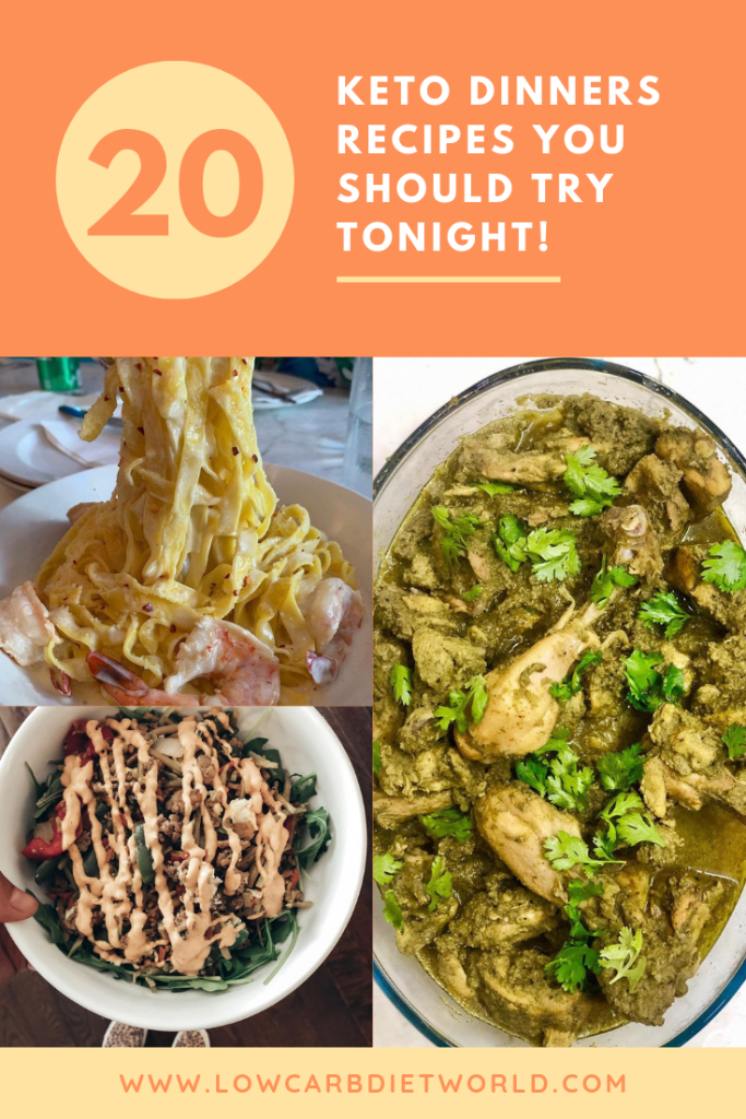20 Delicious Keto Dinners Recipes You Should Try