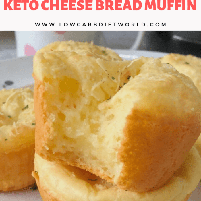 Keto Cheese Bread Muffin
