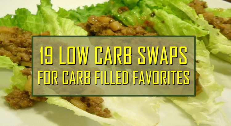19 low carb swaps for carb filled favorites