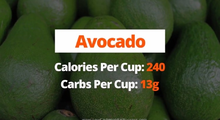 Avocado - calories, carbs, health benefits low carb food