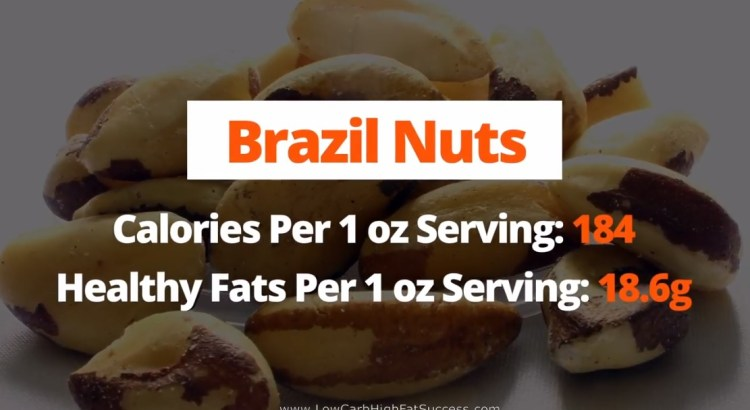 Brazil Nuts - calories, fats, and health benefits low carb food
