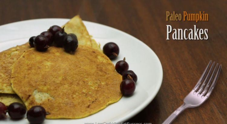 Paleo Pumpkin Pancakes Low Carb Ketogenic Diet Recipe