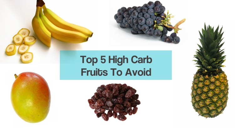 Top 5 High Carb Fruits To Avoid