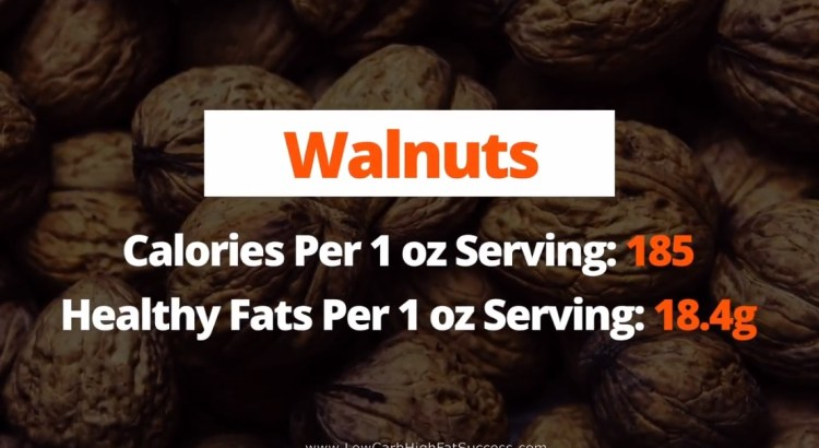 Walnuts - calories, fats, health benefits low carb food