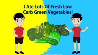 low carb lifestyle - eat more low carb green vegetables