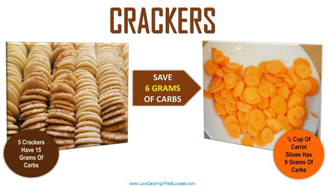 low carb swap for crackers