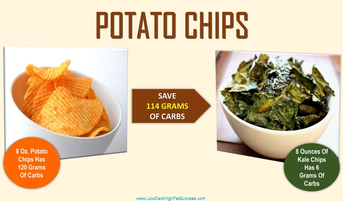 low carb swap for potato chips 1