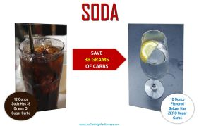 low carb swap for soda