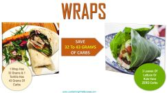 low carb swap for wraps