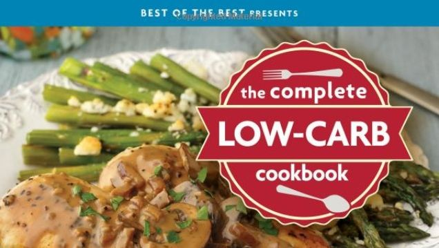 the complete low carb cookbook review - featured