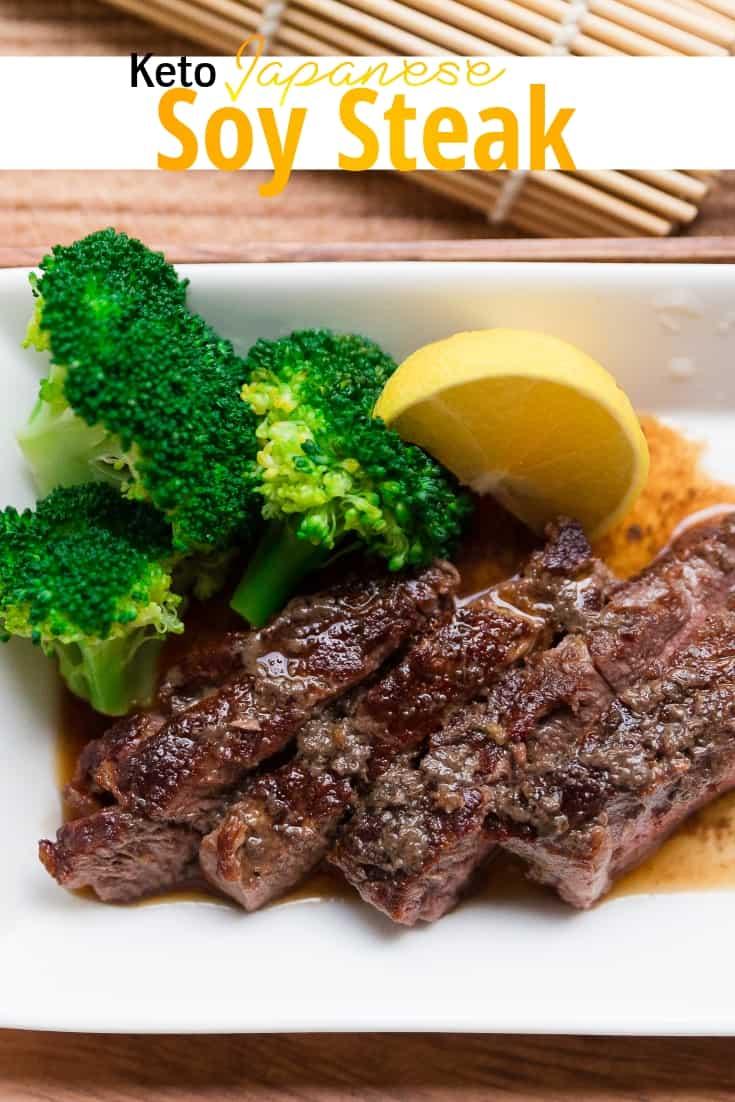 keto Soy Japanese Steak pin 1