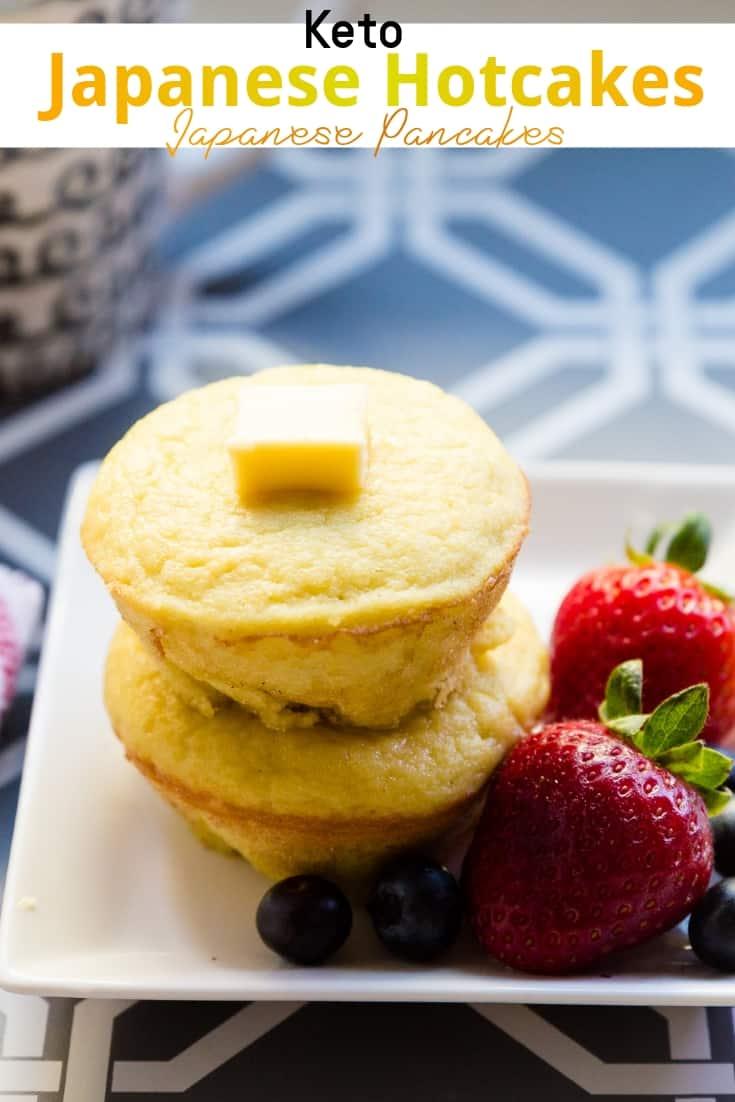 keto Japanese Hotcakes & Pancakes pin 2