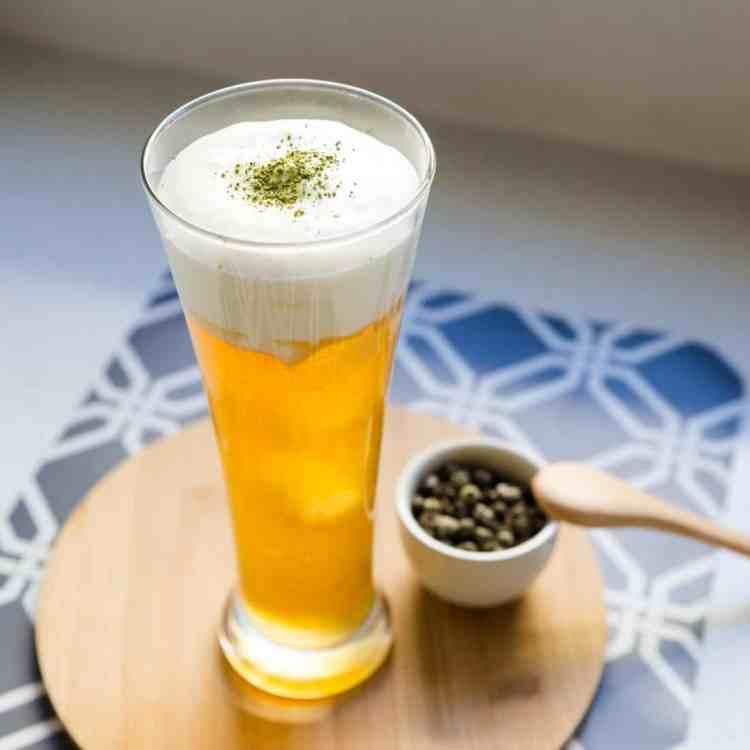 keto Cream Cheese Foam Green Tea cover