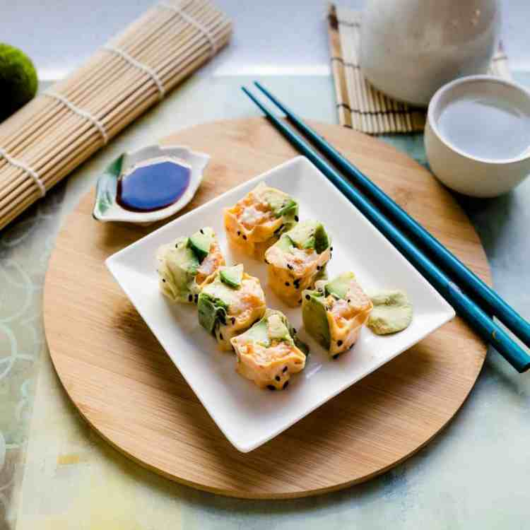 Keto Lobster Sushi Rolls pic