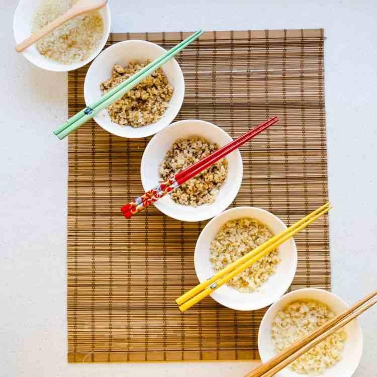 keto ways to Prepare Cauliflower Rice pic