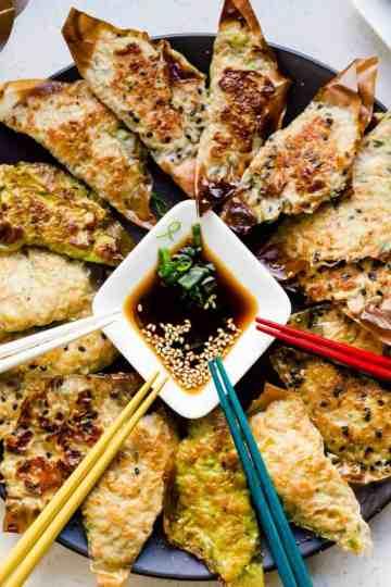Keto Japanese Potstickers Gyoza cover