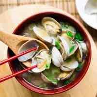 keto Japanese Asari Clam Miso Soup cover