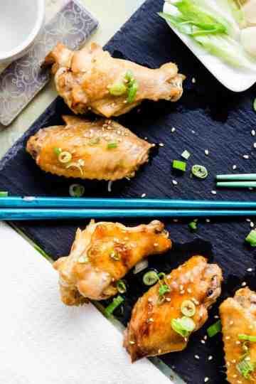 Keto Garlic Miso Chicken Wings Tebasaki LowCarbingAsian Cover