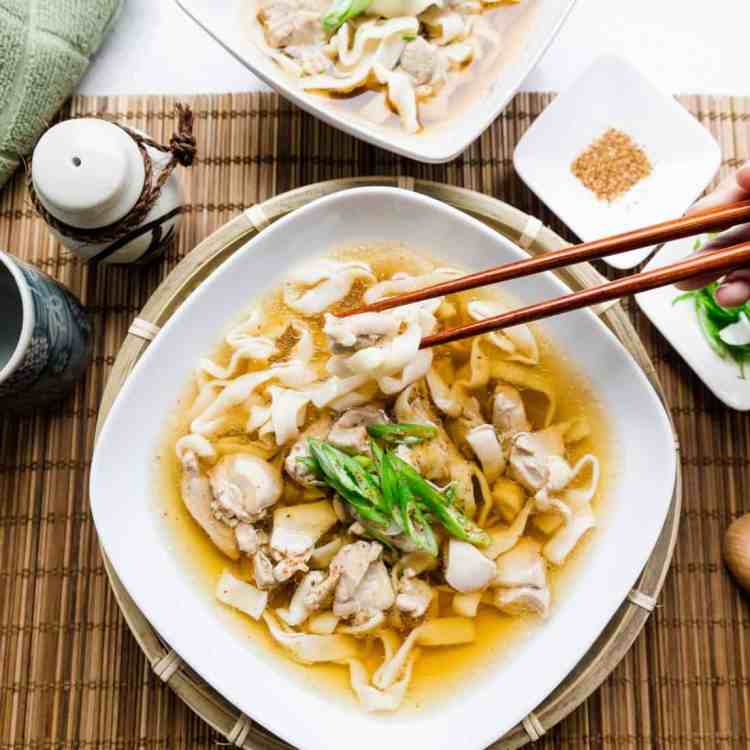 Keto Japanese Chicken Udon with Shirataki Noodles Picture