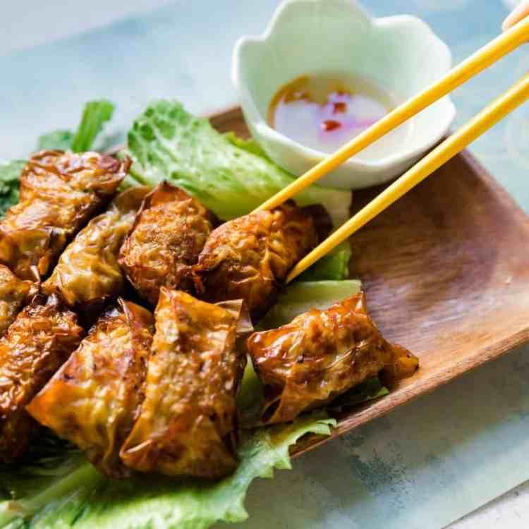 Top 5 Pork Vietnamese Inspired Bite Size Egg Rolls