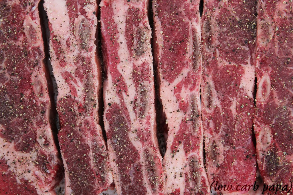 raw argentine cut short ribs