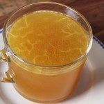 Gingery High Collagen Keto Instant Pot Bone Broth
