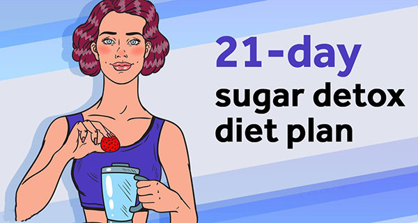 21- Day Sugar Detox keto Diet Plan