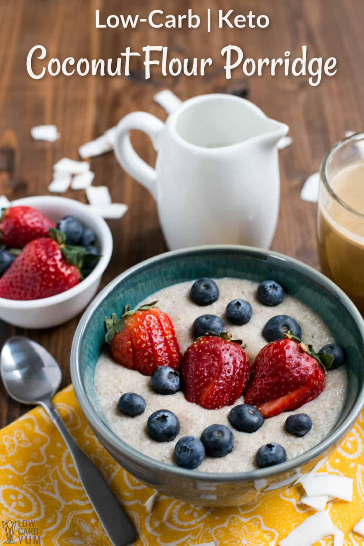 Coconut Low Carb Porridge