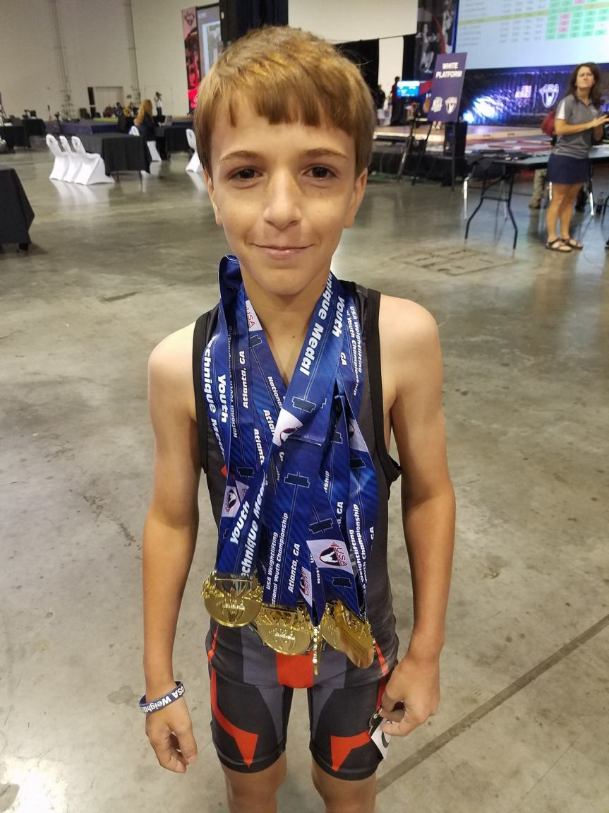 Another Weightlifting Wunderkind From Beaufort – Justice Little Sweeps At Youth Nationals