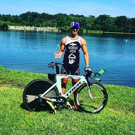 Bluffton's Moreno Wins Charleston Sprint Triathlon Series Title