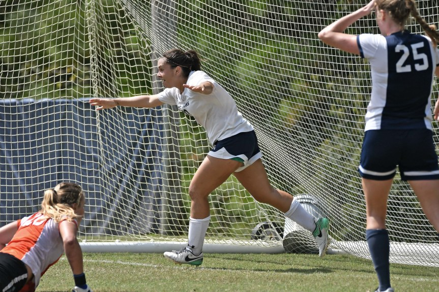 USCB Women's Soccer Takes No. 8 Keiser To The Wire