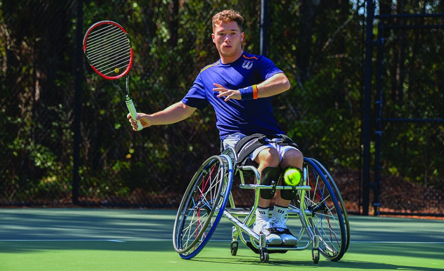 PTR Wheelchair Tennis Championships Roll Out Today On HHI