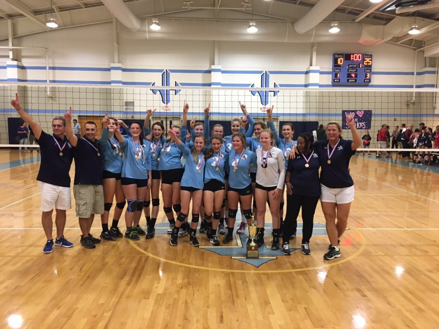 HS VB: CHAMPS! BA Wins SCISA 1A Crown