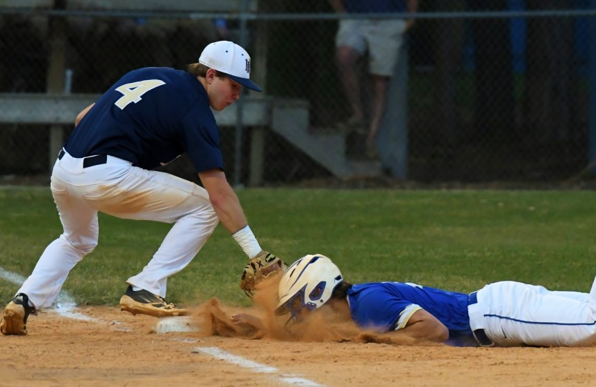 HS Baseball: Eagles' Season Ends With Loss To Pee Dee