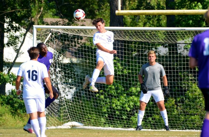 HS Soccer: Berkner's Hat Trick Helps HHCA Breeze Through First Round